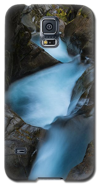 Galaxy S5 Case featuring the photograph Mountain Waterfalls 5863 by Chris McKenna