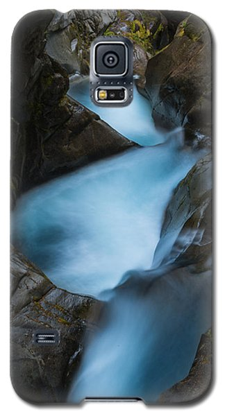 Mountain Waterfalls 5863 Galaxy S5 Case