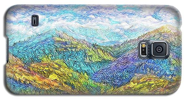 Mountain Waves - Boulder Colorado Vista Galaxy S5 Case