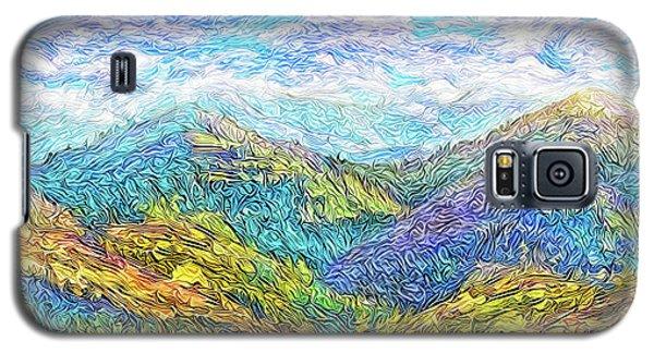 Mountain Waves - Boulder Colorado Vista Galaxy S5 Case by Joel Bruce Wallach
