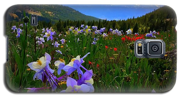 Mountain Wildflowers Galaxy S5 Case