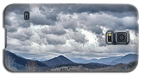 Galaxy S5 Case featuring the photograph Mountains 1 by Walt Foegelle