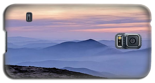 Mountains And Mist Galaxy S5 Case by Marion McCristall