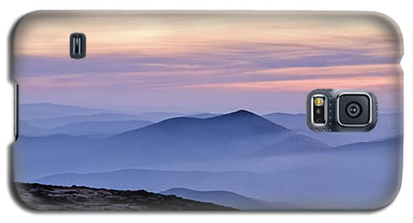 Galaxy S5 Case featuring the photograph Mountains And Mist by Marion McCristall