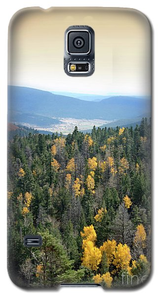 Mountains And Valley Galaxy S5 Case by Jill Battaglia