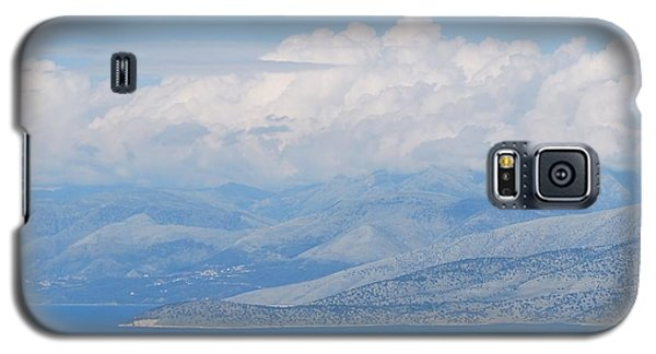 Mountains Far Away  3 Galaxy S5 Case by George Katechis