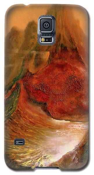 Mountains Fire Galaxy S5 Case