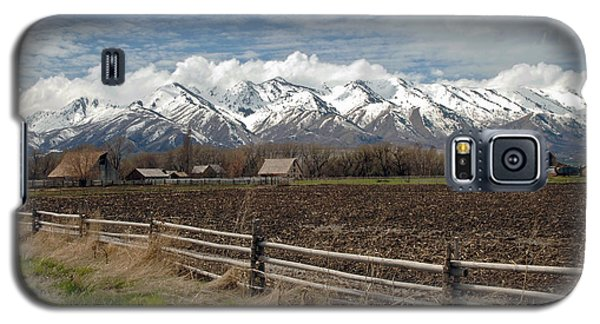 Mountains In Logan Utah Galaxy S5 Case