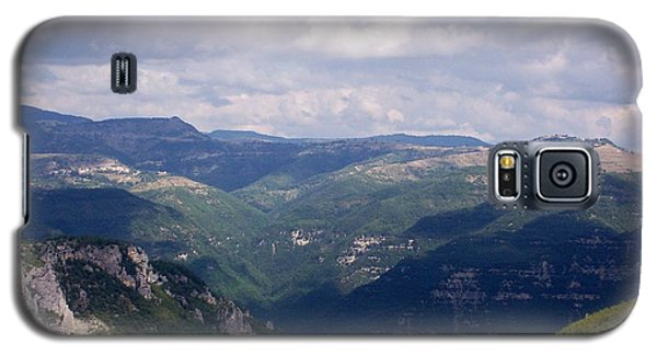 Galaxy S5 Case featuring the photograph Mountains Of Central Italy by Judy Kirouac