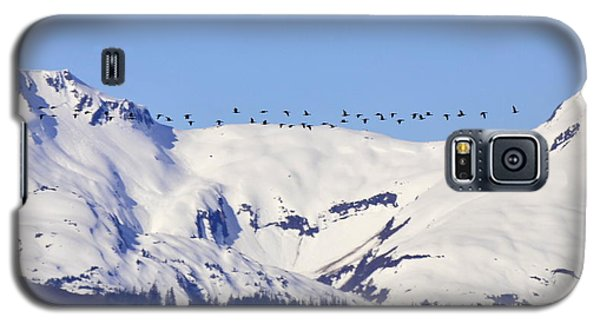 Mountaintop Geese Galaxy S5 Case