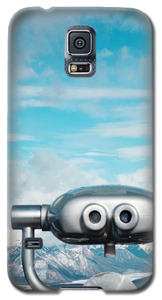 Mountain Galaxy S5 Case - Mountaintop View by Kim Fearheiley
