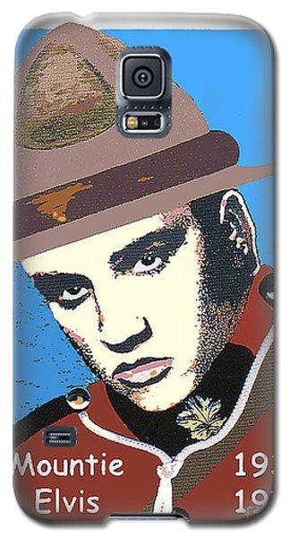 Mountie Elvis Galaxy S5 Case
