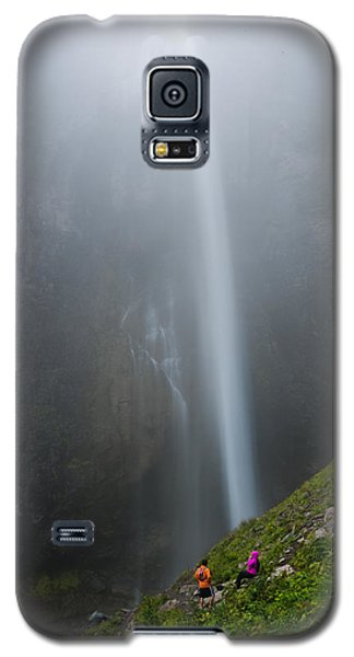 Moutain Waterfalls 5817 Galaxy S5 Case