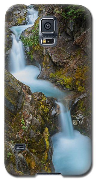 Galaxy S5 Case featuring the photograph Moutain Waterfalls 5857 by Chris McKenna