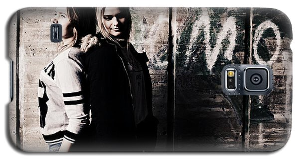 Movie Galaxy S5 Case - Movie by Luba Posvia