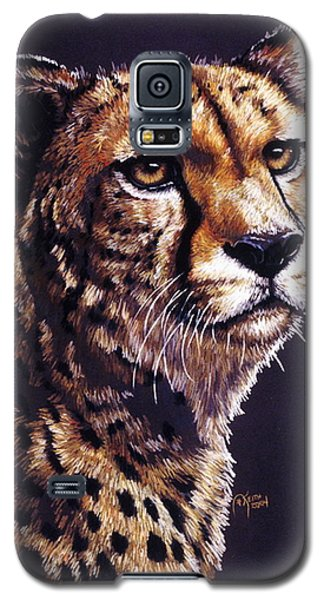 Galaxy S5 Case featuring the drawing Movin On by Barbara Keith