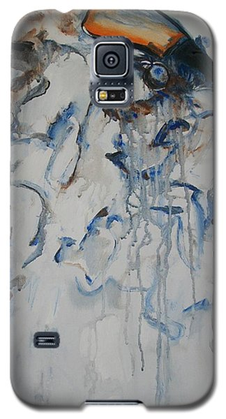 Galaxy S5 Case featuring the painting Moving Forward by Raymond Doward