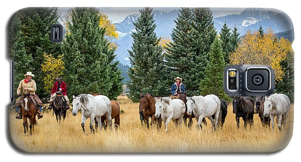 Moving The Herd Galaxy S5 Case by Jack Bell