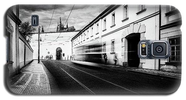 Street Tram Galaxy S5 Case by M G Whittingham