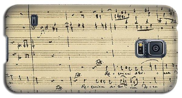 Mozart: Requiem Excerpt Galaxy S5 Case