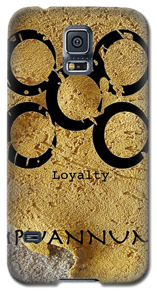 Mpuannum Adinkra Symbol Galaxy S5 Case by Kandy Hurley