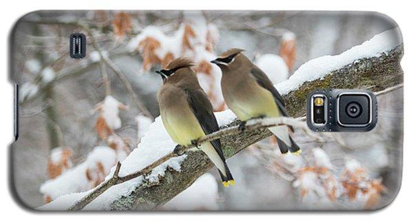 Mr. And Mrs. Cedar Wax Wing Galaxy S5 Case