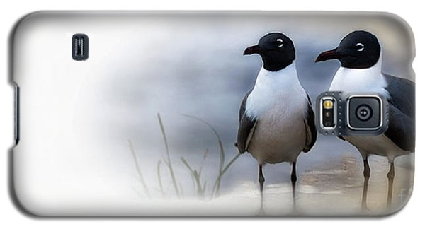 Mr And Mrs Laughing Gull Galaxy S5 Case