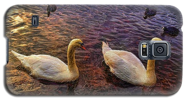 Mr And Mrs Swan Go Viisiting Galaxy S5 Case