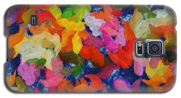 Mr Autumn Meets  Lady Spring - Painting - Wet Paint  Galaxy S5 Case