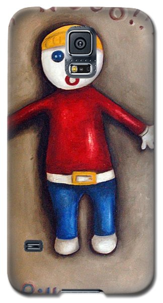 Mr. Bill Galaxy S5 Case by Leah Saulnier The Painting Maniac