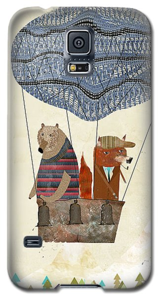 Mr Fox And Bears Adventure  Galaxy S5 Case