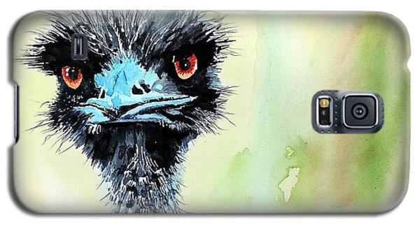 Mr. Grumpy Galaxy S5 Case by Tom Riggs