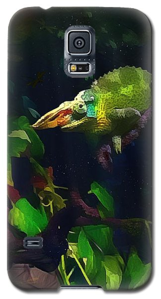 Mr. H.c. Chameleon Esquire Galaxy S5 Case