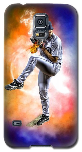 Mr. Justin Verlander Galaxy S5 Case