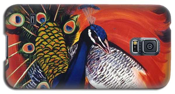Mr Peacock Galaxy S5 Case by Lisa Boyd