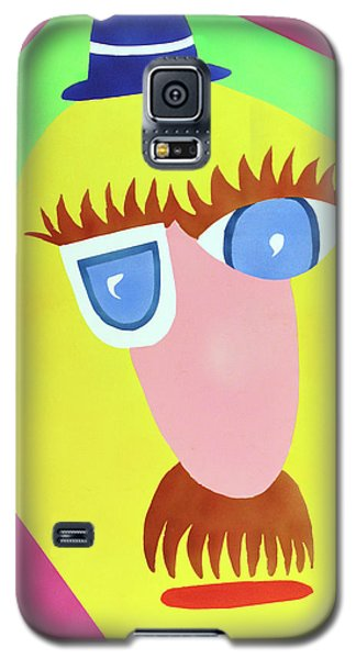 Galaxy S5 Case featuring the painting Mr. Strangefellow by Thomas Blood