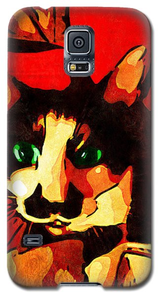 Galaxy S5 Case featuring the photograph Mr. Wiggins by Iowan Stone-Flowers