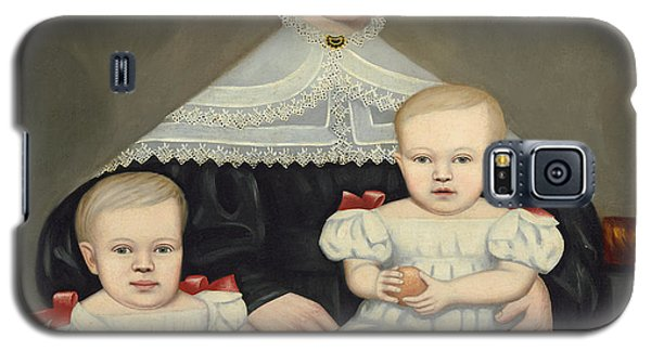 Mrs Paul Smith Palmer And Her Twins Galaxy S5 Case