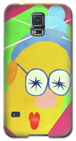 Mrs. Strangefellow Galaxy S5 Case