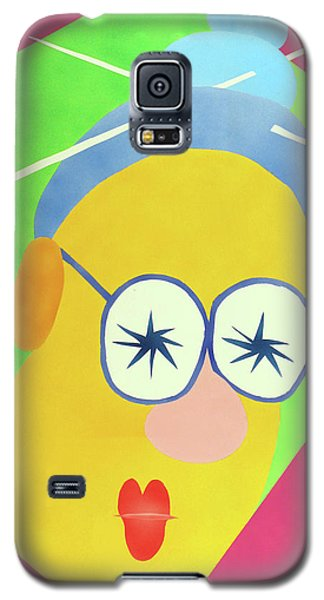 Galaxy S5 Case featuring the painting Mrs. Strangefellow by Thomas Blood