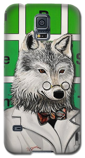 Galaxy S5 Case featuring the painting Mr.tulamordue by Jude Labuszewski