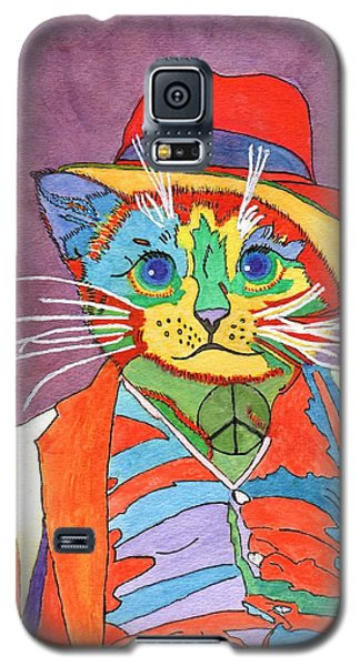 Mr.wisker For Peace Galaxy S5 Case