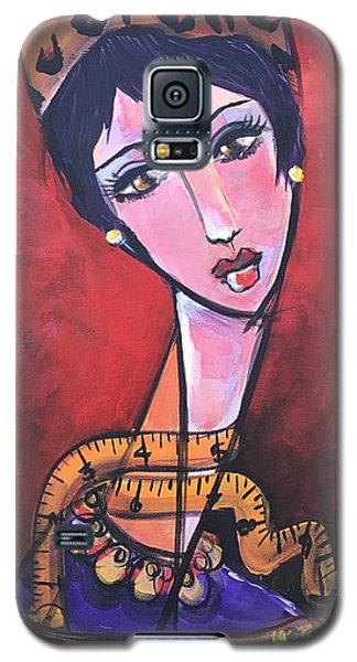 Ms. Bimba Fashionable Seamstress Galaxy S5 Case