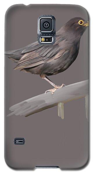 Ms. Blackbird Is Brown Galaxy S5 Case