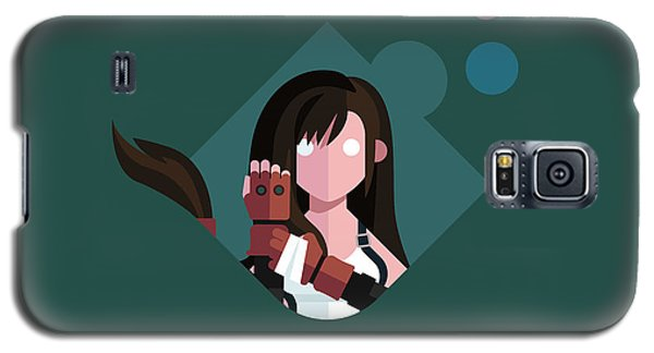 Galaxy S5 Case featuring the digital art Ms. Lockhart by Michael Myers