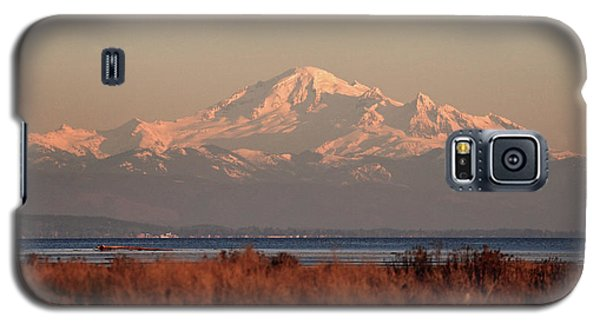 Mt Baker At Sunset Galaxy S5 Case