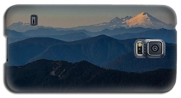 Mt. Baker From Mt. Pilchuck Galaxy S5 Case