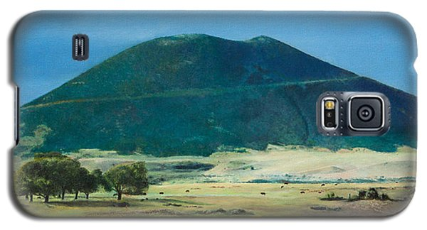 Galaxy S5 Case featuring the painting Mt. Capulin In Summer by Joshua Martin