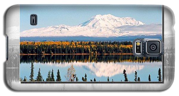 Galaxy S5 Case featuring the photograph Mt. Drum - Alaska by Juergen Weiss