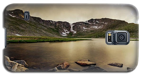 Mt. Evans Summit Lake Galaxy S5 Case by Chris Bordeleau
